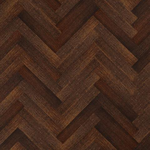 Hand Scraped Strand Woven Coffee Herringbone 3/8in.Tx4-3/4in.Wx23-5/8 in.L Eng. T&G Bamboo Flooring (15.49 sq.ft./ case)