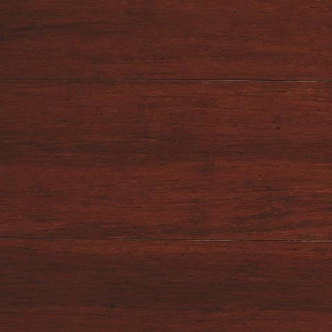 Strand Woven Mahogany 1/2 in. T x 5-1/8 in. W x 72 in. L Solid Bamboo Flooring