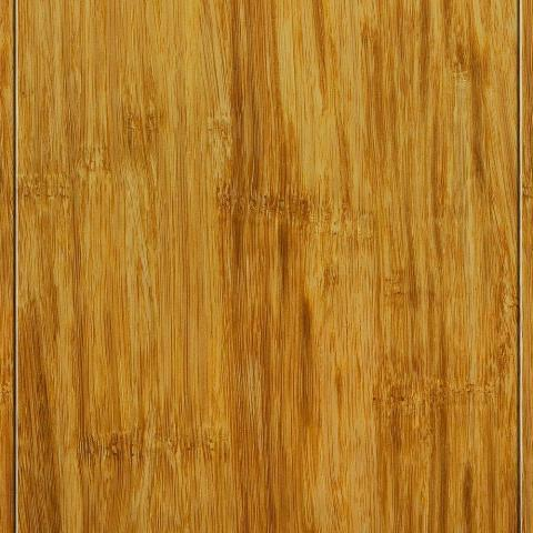 Hand Scraped Strand Woven Natural 3/8 in. Thick x 5 in. Wide x 36 in. Length Click Lock Bamboo Flooring (25 sq.ft./case)