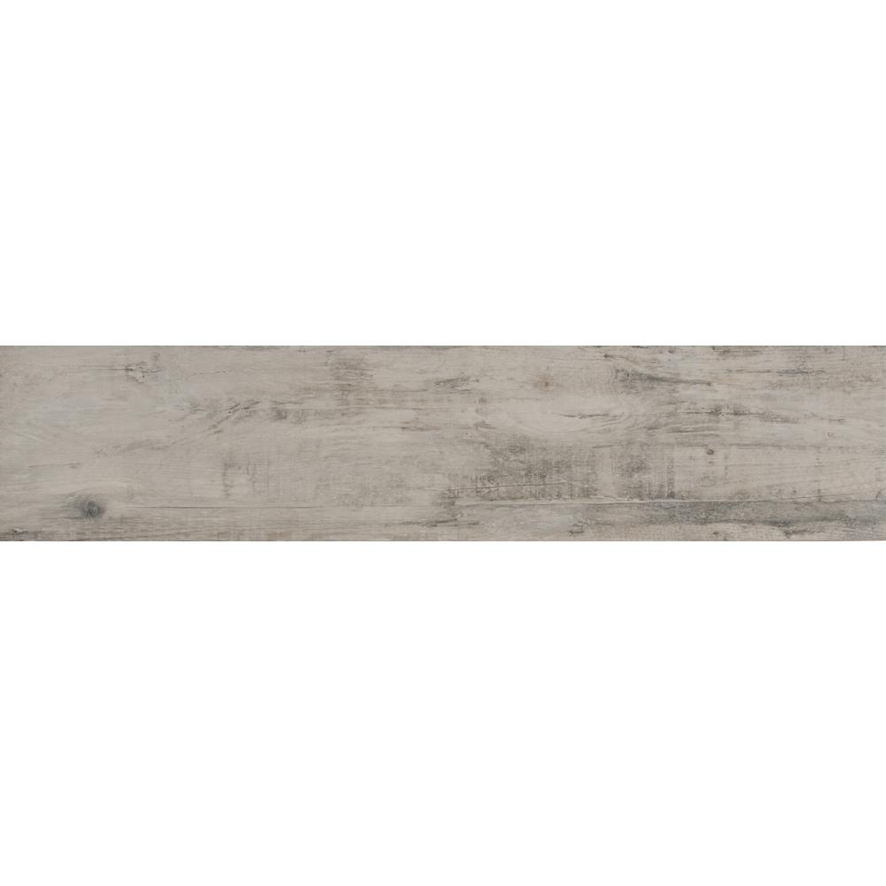 Manorwood Natural 8 in. x 36 in. Glazed Porcelain Floor and Wall Tile (14 sq. ft. / case)