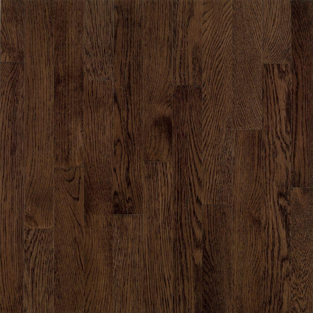 American Originals Barista Brown Oak 3/4 in. T x 2-1/4 in. W x Varying L Solid Hardwood Flooring (20 sq. ft. /case)