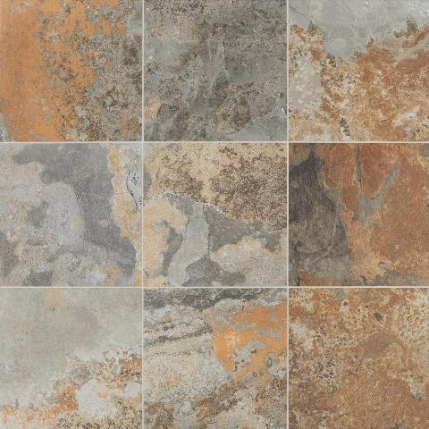 VitaElegante Ardesia 12 in. x 12 in. Porcelain Floor and Wall Tile (14.55 sq. ft. / case)