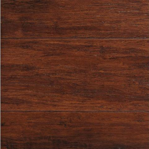 Home Decorators Collection Hand Scraped Strand Woven Brown 3 8 In T X 5 1 8 In W X 36 In L Engineered Click Bamboo Flooring